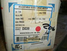 MAGNETEK 22210300 1/4 HP DC GEAR MOTOR 90 V. ARM, 1725 RPM 56C FR 5:1 RATIO