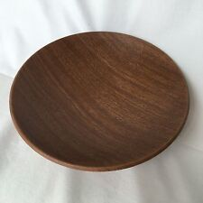 Vanity Wood Grain Metal Bowl