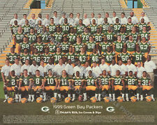 1999 GREEN BAY PACKERS NFL FOOTBALL TEAM 8X10 PHOTO