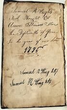 1795 Samuel Haight Bought Book At Aaron Palmer's Store June 1796 The Monitor
