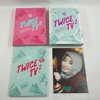 TWICE TV2 Official Original DVD PhotoBook DAHYUN Postcard 1p Goods K-POP Opened