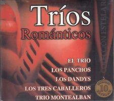 El Trio Los Panchos Los Dandys Trios Romanticos Caja De Carton CD New Sealed
