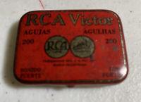 Phonograph RCA Victor Vintage Needle Tin