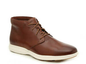 Cole Haan Men's Grand Tour Chukka Boot Woodbury / Ivory Leather Size 12M NEW