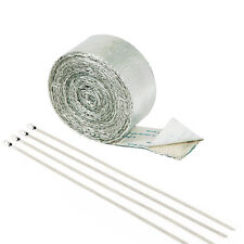 Aluminum Tape Adhesive Backed Heat Shield Resistant Wrap For All Intake pipe