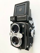 Yashica Mat Lm Medium Format Tlr Film Camera Yashinon 80mm f3.5 Lens Pristine