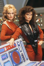 Jane Badler As Diana And June Chadwick As Lydia In V 11x17 Mini Poster