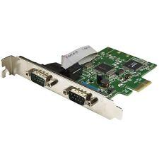 StarTech.com 2-Port PCI Express Serial Card with 16C1050 UART - RS232