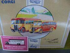 1/50 Corgi I AEC Regal I Bedford OB Coach Yelloway Bus Set 97063