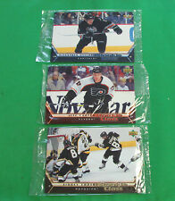 Sidney Crosby Alexander Ovechkin Upper Deck CC1 CC2 CC7 2005 2006 Jumbo Card RC