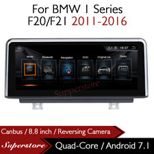 "Quad Core 8.8"" Car Multimedia Player GPS Android 7.1 For BMW 1 Series F20/F21"