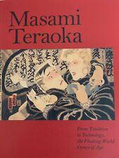 "MASAMI TERAOKA: ""Floating World Comes of Age"" New PB JAPANESE TATTOO Reference"