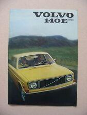 1971 Volvo 140E Brochure