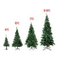 4/6/7/9.8 Feet Tall Christmas Tree W/Stand Holiday Season Indoor Outdoor Green