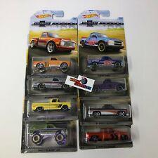 8 Car Set * Hot Wheels 100 Years Chevrolet Trucks * WD11