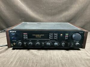 sony ta-e77es Stereo Control Amplifier Remote Control System Powers On