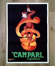 CAMPARI L'APERITIVO poster manifesto affiche Leonetto Cappiello Advertising 1950