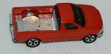 1996 Hot Wheels Red 1997 Ford F-150  Pick up Truck, Made in Malaysia