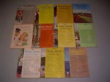 #40 Lot of 11 Sélection du Reader's Digest 1949 1950 1952