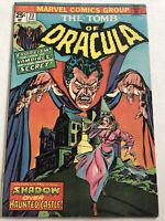 The Tomb of Dracula #23- Marvel August 1974-Back From The Grave-Exorcism Castle