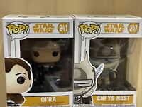 2 X Funko Pop #241 Qi'ra #247 Enfys Nest Star Wars Rogue One Rise Of Skywalker