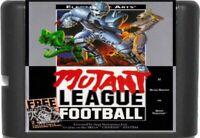 Mutant League Football (1993) 16 Bit For Sega Genesis / Mega Drive System