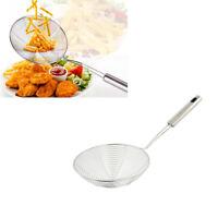 Strainer Skimmer Stainless Steel Spider Strainer Ladle Kitchen 12 Inches Bowl