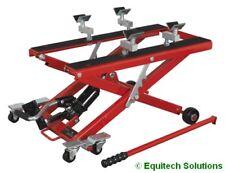 Sealey MC4500 Motorcycle & Quad Scissor Lift 500kg Capacity Hydraulic Post