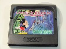 !!! sega GAME GEAR jeu Mickey Castle of Illusion, d'occasion mais bien!!!