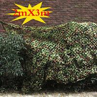 Leaf Camouflage Woodland Camo Ghillie Suit Set 3D Jungle Forest Hunting