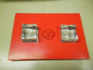 New Insert & 2 Acrylic Ice Cubes for 1930s Marx Pressed Steel Toy Stake trailer