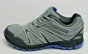 Fila Size 7 Grey Trail Hiking Sneakers New Womens Shoes
