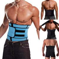 Men's Abdomen Fat Burner Belly Compression Body Shaper Slim Waist Trainer Belt
