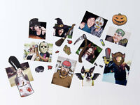 Spooky Horror Dress Up Your Photo's Fridge Magnets by Spinning Hat