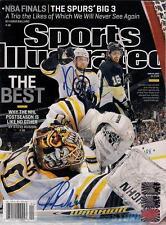 Dennis Seidenberg Tuukka Rask Boston Bruins Signed Sports Illustrated Magazine