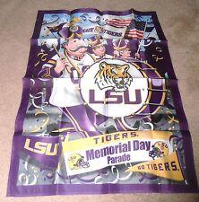 Lsu Tigers Memorial Day Parade Hanging Flag Banner