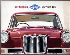 Riley 4/Seventy Two 4/72 1963-65 UK Market Sales Brochure
