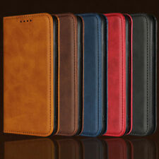 For Samsung Galaxy Note 8 9 10 Plus S10e S9 S8 S7 Case Leather Flip Wallet Cover