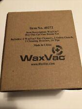 Waxvac Pulitore Orecchie (pacco da 2) Sistema di rimozione di cera #40272