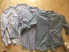 Hemden Jungen Zara Gr. 164, 3 Stück, Langarm, langärmelig, Set