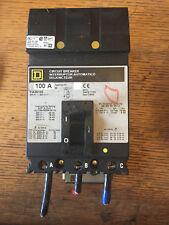 100 AMP 3 Phase circuit breaker FA36100 Square D