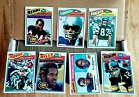 1977 Topps Football Complete Set 1-528 Largent RC Payton Papale Griffin Rookies