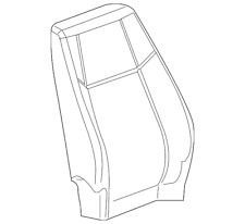 Genuine GM Seat Back Cover 25799846
