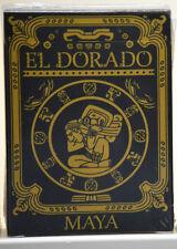 Eldorado Maya Black & Gold Version playing cards deck brand new sealed