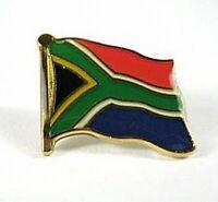 Südafrika Flaggen Pin Anstecker,1,5 cm,South Africa,Neu mit Druckverschluss