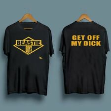Vintage 1986 Beastie Boys Get Off My Dick Men's T-Shirt Size S-2Xl Ly46t