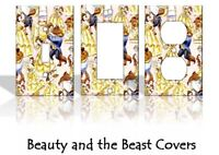 Beauty and the Beast #2 Light Switch Covers Disney Home Decor Outlet