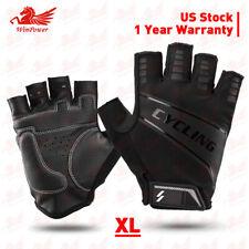 Sports Cycling Racing Motorcycle MTB Bike Bicycle Gel Half Finger Gloves Men XL