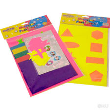 BUMPER FUN PACK CARDS PAPER ART CRAFT FUN COLOURS SHAPES ACTIVITY CLEVER KIDZ