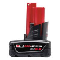 Milwaukee 48-11-2460 M12 REDLITHIUM XC6.0 Battery Pack New